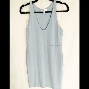 ⭐️Leith Light Blue Racer Back Mini Dress Size M⭐️